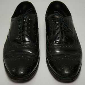 Johnson & Murphy Mens Leather Dress Shoes Sz 10